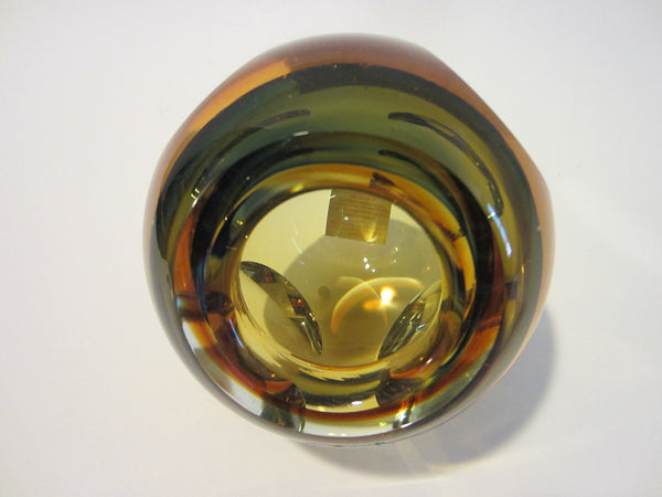 Fifth Avenue Crystal Amber Votive Candle Bowl - Designer Unique Finds   - 6