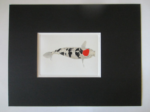 Silver Shark Contemporary Signed Lithograph Graphic Art