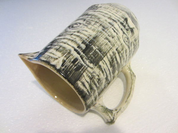 Medalta Potteries Abstract Pitcher Mid Century Redcliff Alta Canada - Designer Unique Finds