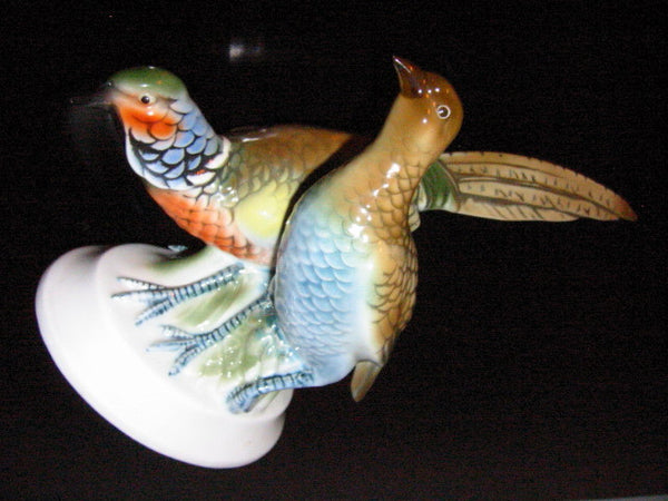 Gerold Porzellin Bavaria Exotic Pheasants Western Germany - Designer Unique Finds   - 2