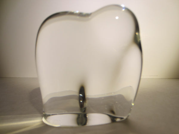 Baccarat France Abstract Glass Elephant