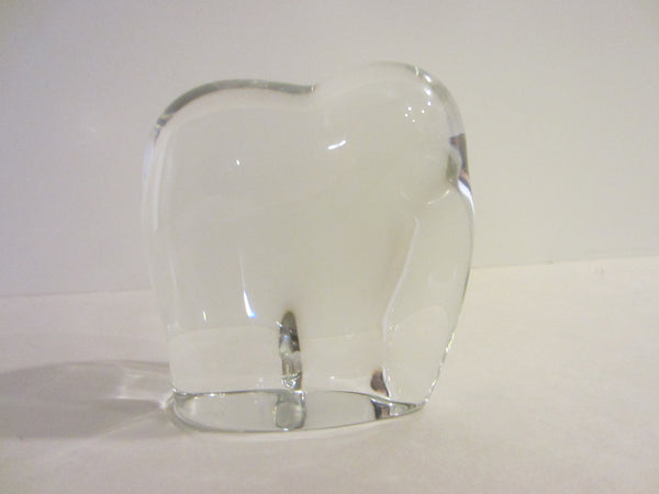 France Baccarat Abstract Elephant Crystal