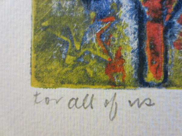 Anita Klebanoff Abstract Graphic Art With Title For All Of US - Designer Unique Finds   - 4