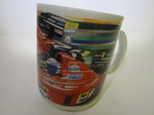 Chaleur By Randy Owens Racing Car Ceramic Mug