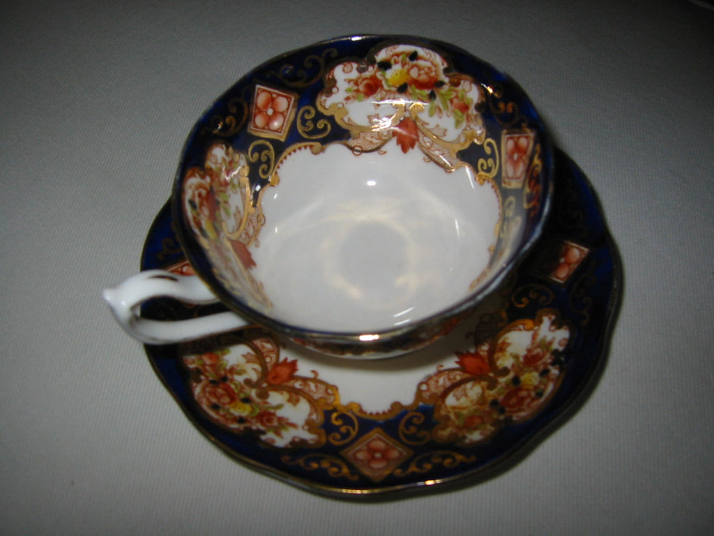 Royal Albert China England Derby Cup Saucer - Designer Unique Finds