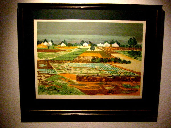 Jean Pierre Tetre French Landscape Signed Lithograph Artist Biography