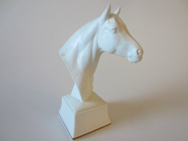 Astrope Fine Bone China Royal Worcester England Equestrian Horse Head