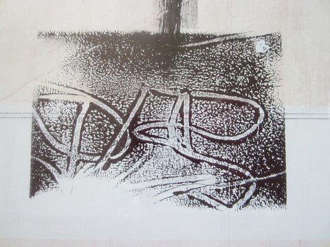 Abstract Lithograph Contemporary Art Artist Monogram - Designer Unique Finds   - 5