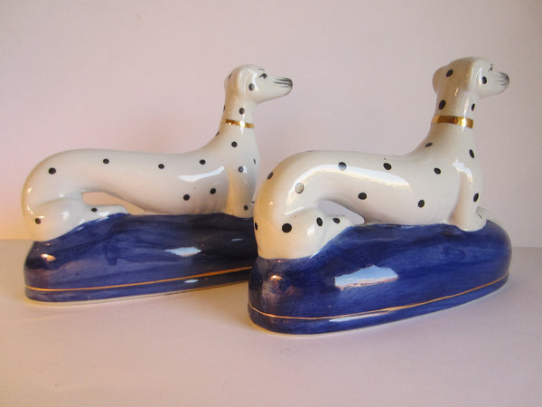 Dalmatians Porcelain Bookends - Designer Unique Finds   - 2