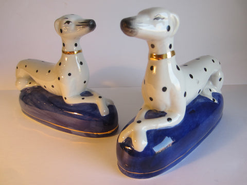 Dalmatians Porcelain Bookends - Designer Unique Finds   - 3