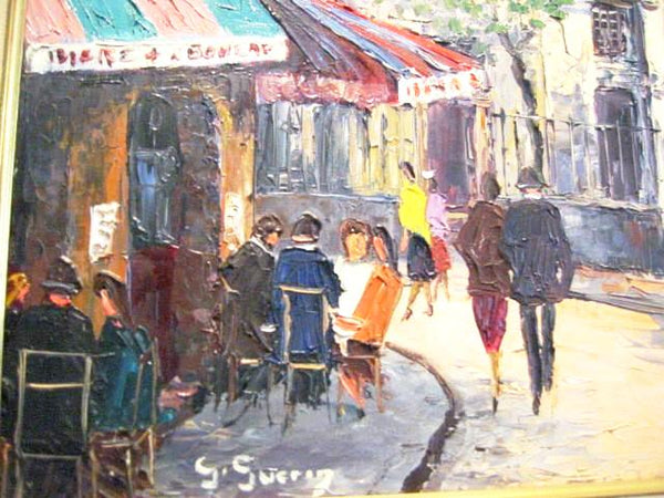 Attriubuted S Sverin St Pierre d Montmartre Paris Impressionist Oil On Canvas - Designer Unique Finds   - 1