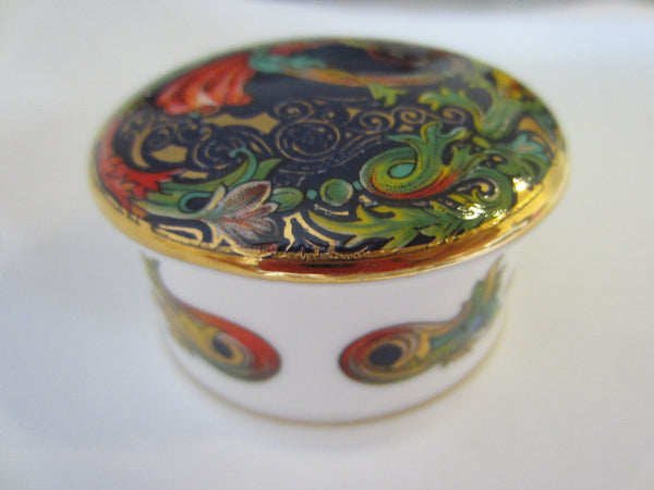 Object D Art Fine Bone China Miniature Box Made In England - Designer Unique Finds