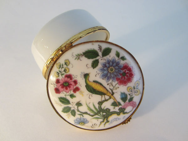 G Labesse Porcelain Limoges Made in France Modele Exclusiff Trinket Boxes - Designer Unique Finds   - 2