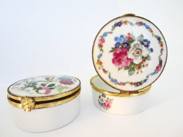 G Labesse Porcelain Limoges Made in France Modele Exclusiff Trinket Boxes - Designer Unique Finds   - 1