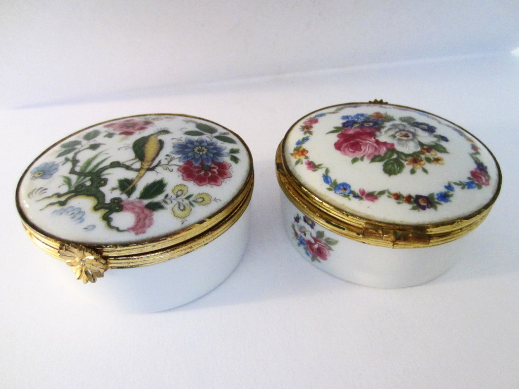 G Labesse Porcelain Limoges Made in France Modele Exclusiff Trinket Boxes - Designer Unique Finds   - 3