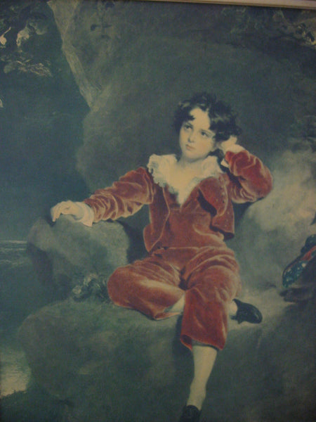 Son of JG Lambton Esq Portrait By Sir Thomas Lawrence - Designer Unique Finds