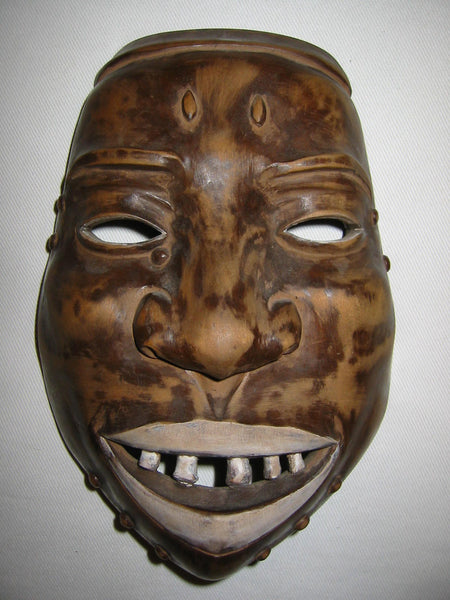 Hand Carved Wood Ethnic Mask - Designer Unique Finds   - 5