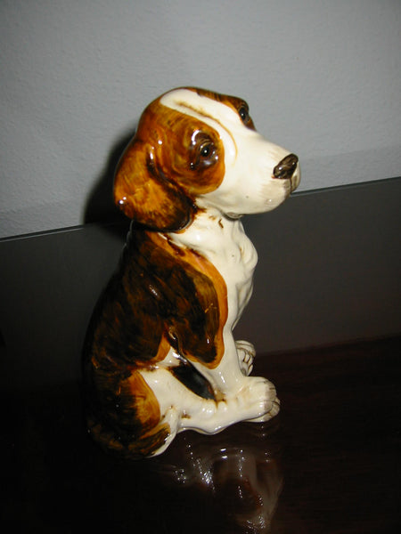 Ceramic Folk Art Dog Pottery Hand Painted Figurine - Designer Unique Finds   - 3
