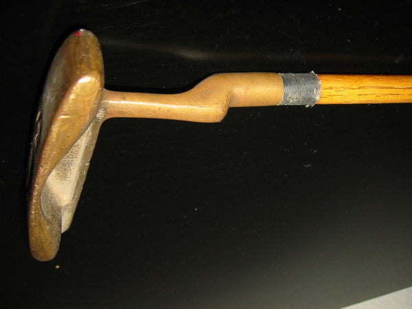 Hickory Stick Lambkin Golfing Potter USA Scripted Circa 1940s - Designer Unique Finds