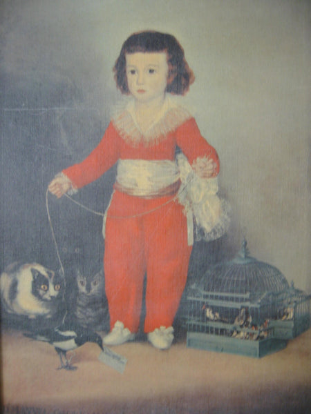 Francisco Goya Portrait Don Manual Osorio De Zuniga Boy In Orange Suit - Designer Unique Finds   - 6
