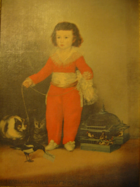 Francisco Goya Portrait Don Manual Osorio De Zuniga Boy In Orange Suit - Designer Unique Finds   - 3