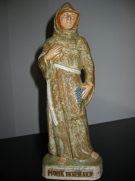 Monk Ekkehard Capo Di Monte  Made in Italy 83 Ceramic Statue - Designer Unique Finds