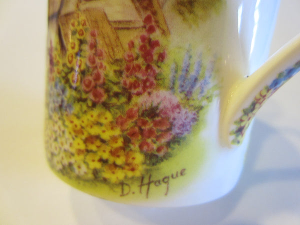 Allyn Nelson Fine Bone China Coffee Mug Made in England - Designer Unique Finds