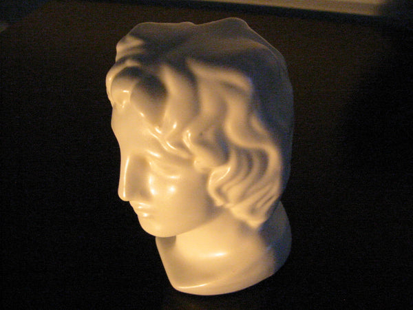 Italian Ceramic Figure Head Bisque Pottery Bust Made In Italy - Designer Unique Finds   - 3