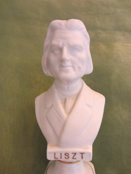 Andrea Japan European Composers Busts Bisque Figurine Suite - Designer Unique Finds   - 5