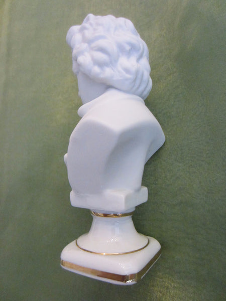 Andrea Japan European Composers Busts Bisque Figurine Suite - Designer Unique Finds   - 3