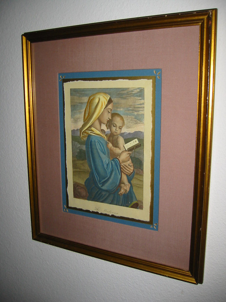 The Madonna T Vernon SC Illustrated Print Art From Colorado Springs - Designer Unique Finds