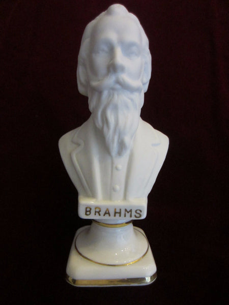 Andrea Japan European Composers Busts Bisque Figurine Suite - Designer Unique Finds   - 2