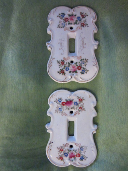 Arnart Creation Japan Porcelain Botanical Switch Plates