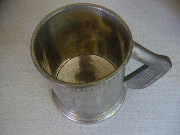 American Open Championship Pewter Sheffield Tankard St Andrews 1798 Scotland