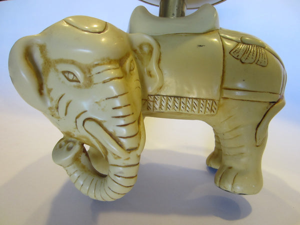 Art Deco Elephants Bearing Brass Candle Holders - Designer Unique Finds   - 4