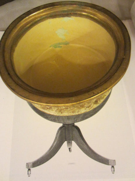 Italy Dini E Cellai Signa Ceramic Bronze Signed Figurative Putti Bowl - Designer Unique Finds