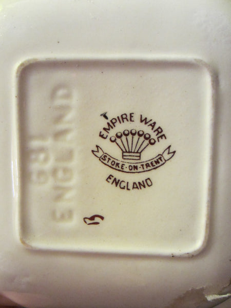 Empire Ware Stoke On Trent England Hunting Scene Signed Ashtray - Designer Unique Finds   - 2