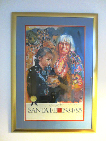 Amy R Stein Titled The Gift of Grandmother Hand Signed Numbered Poster Artist Proof - Designer Unique Finds