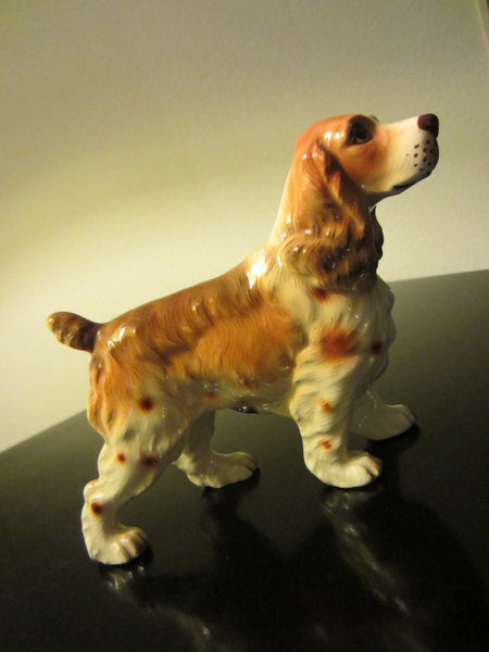 Norcrest Hound Hand Decorated Japan Ceramic Figurine - Designer Unique Finds