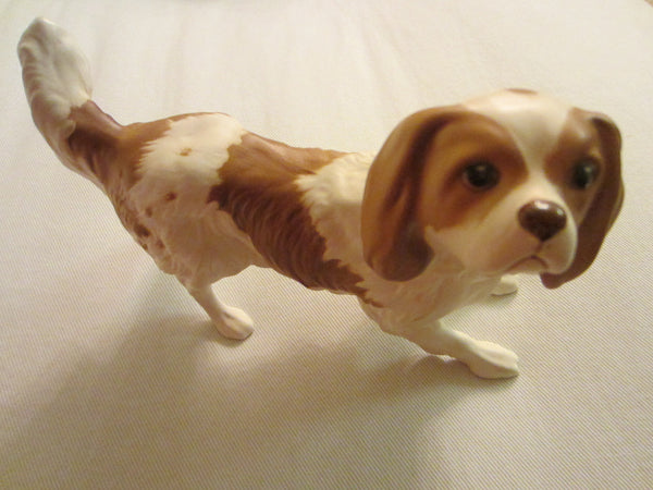Beswick England Cavalier Dog Bisque Figurine Stamp Marks - Designer Unique Finds   - 3