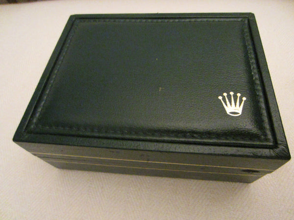 Rolex Swiss Hunter Green Collectors Watch Box - Designer Unique Finds