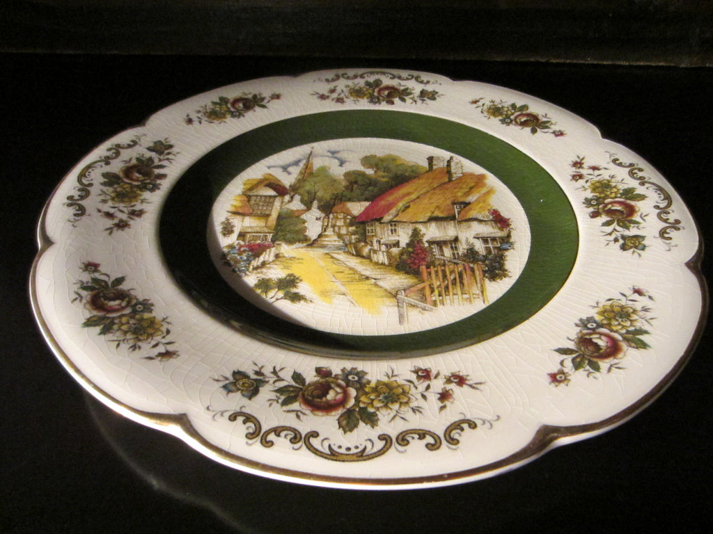 Wood And Sons England Ascot Service Plate Alpine White Ironstone - Designer Unique Finds   - 1
