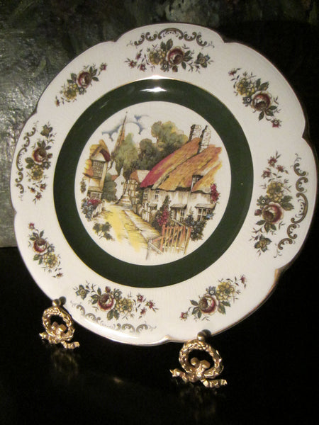 Wood And Sons England Ascot Service Plate Alpine White Ironstone - Designer Unique Finds   - 2