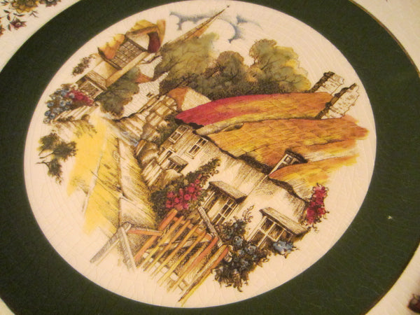 Ironstone Charger Alpine Service Plate by Wood And Sons England - Designer Unique Finds