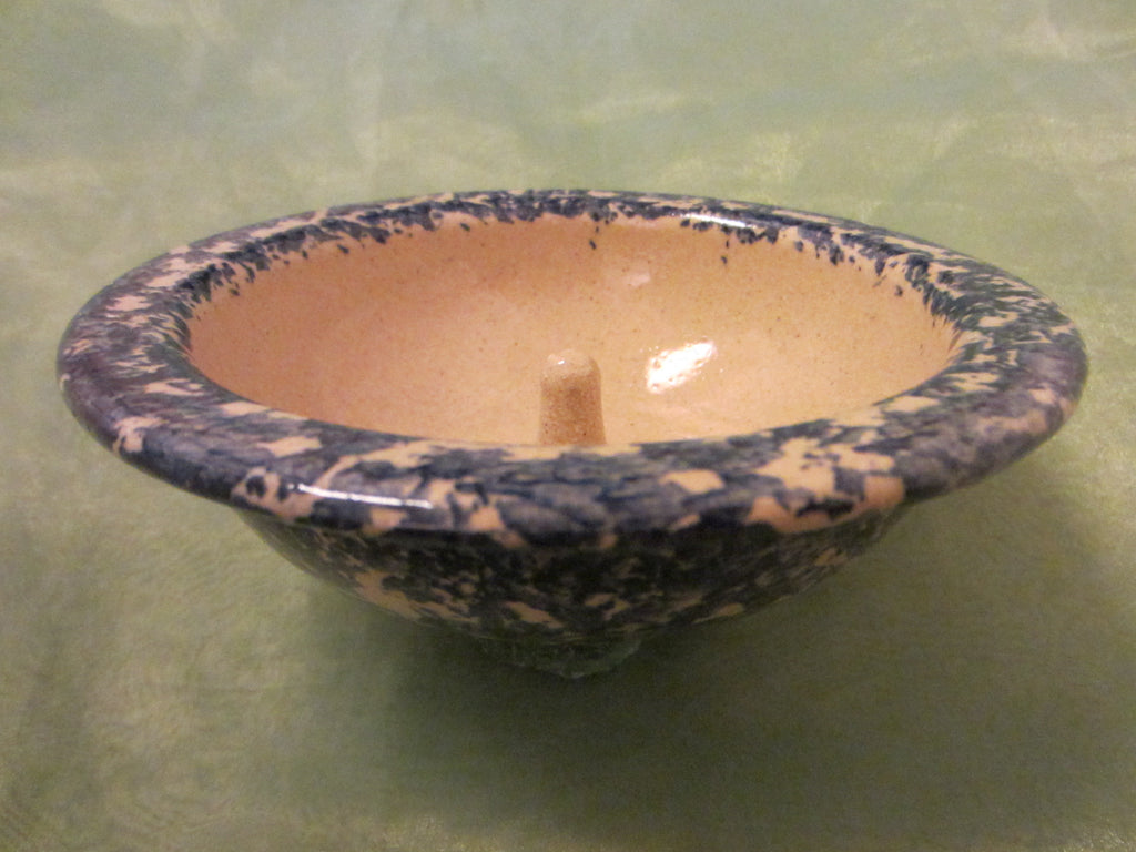 Stillmeadow Pottery Blue Earthen Ware Ring Holder Bowl - Designer Unique Finds