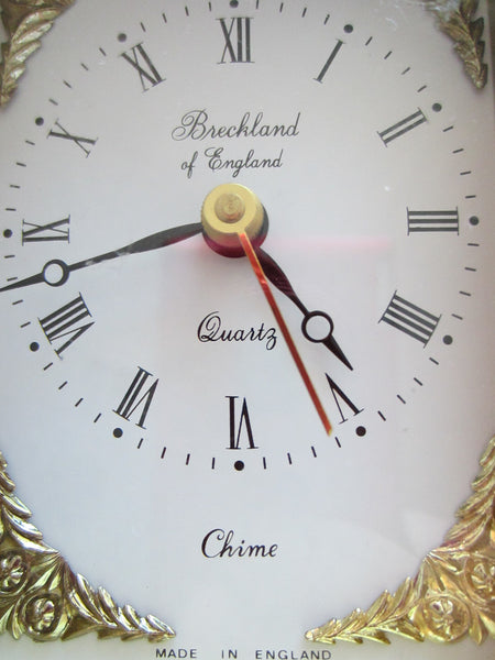 Brass Carriage Clock Breckland England Musical ChimeQuartz - Designer Unique Finds   - 2