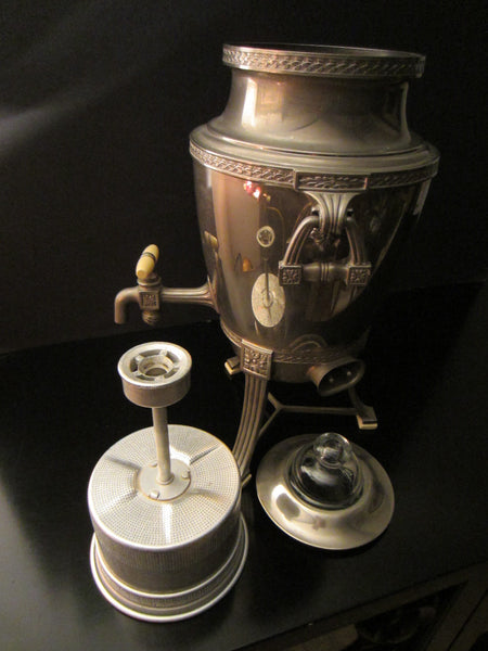 Universal Silver Plated Percolator Landers Fray Clark - Designer Unique Finds   - 6