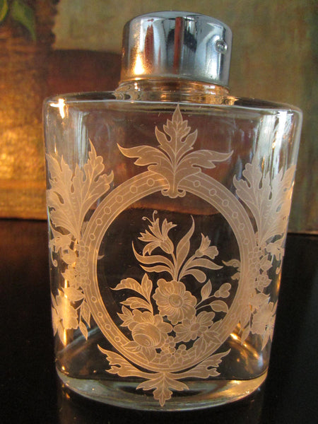 Portugal Jay Willfred Andrea by Sadek Apothecary Glass Flask Suite - Designer Unique Finds   - 2