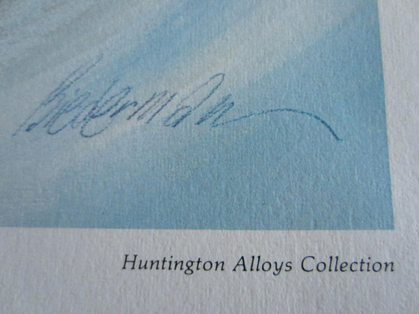 Huntington Alloy Collection Aviator Print Albatros D Va Spad XIII - Designer Unique Finds