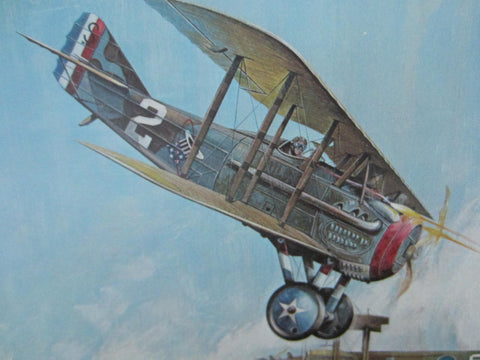 Aviator Print Art Albatros D. Va Spad XIII Huntington Alloy Collection Inspires - Designer Unique Finds   - 1